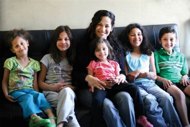 Monica and her family: Dream Center Los Angeles Opportunity Fund