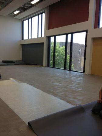 Erie Elementary, Construction, New Gymnasium