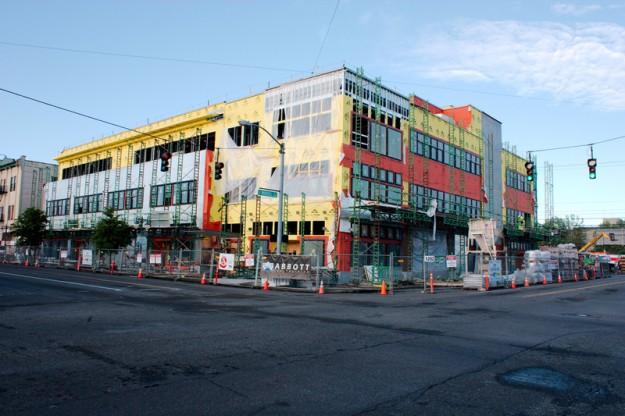 CHC's Hilltop Community Health Care Clinic Under Construction, Tacoma, Washington